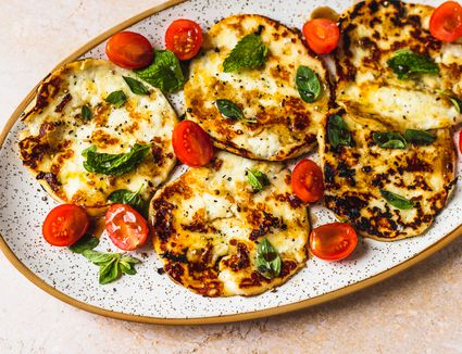 3-Minute Fried Halloumi Cheese Meze