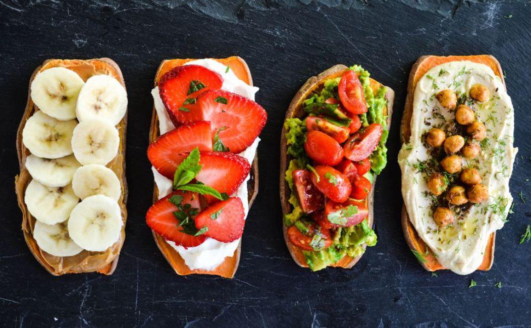 Breakfast Sweet Potato Toasts