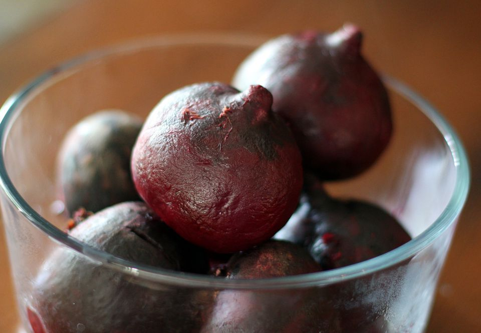 Roasted Beets in a bowl.