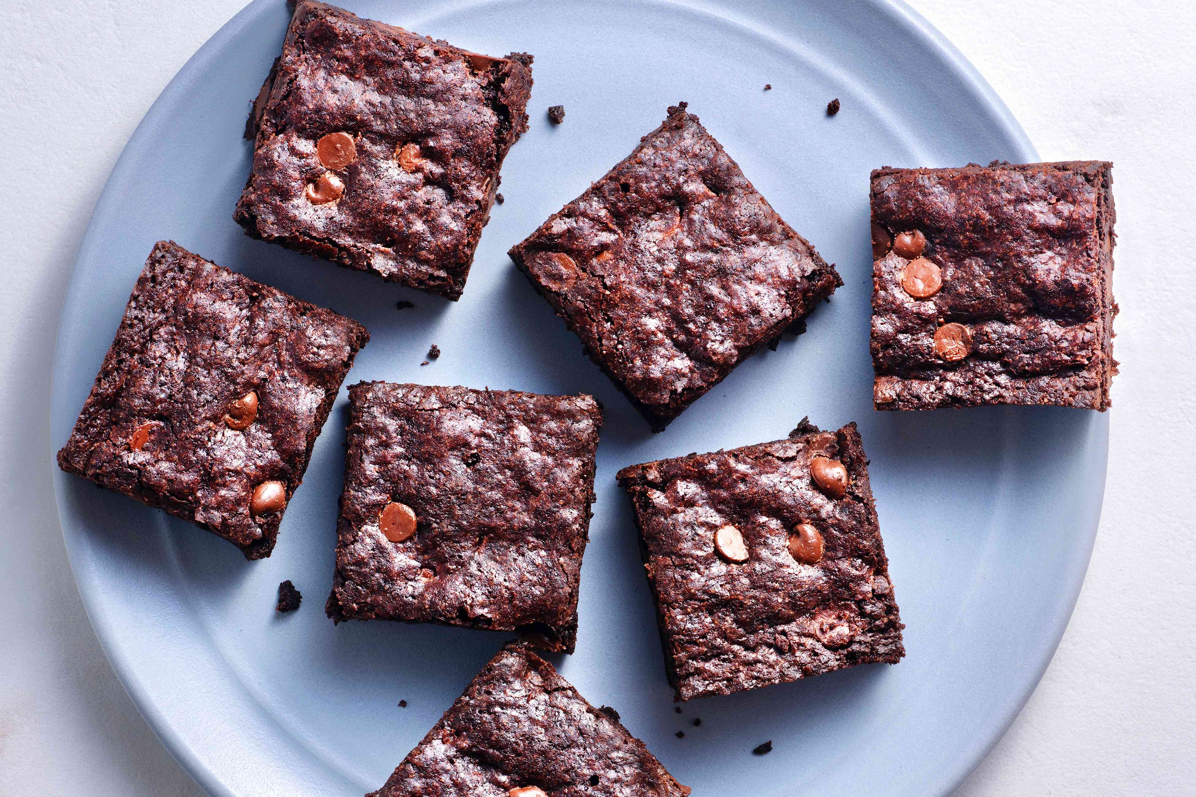 Best Brownies on a plate