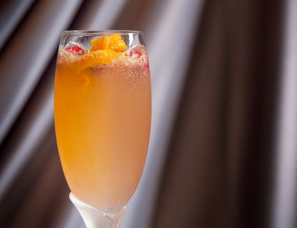 Figgy Sparkler Cocktail