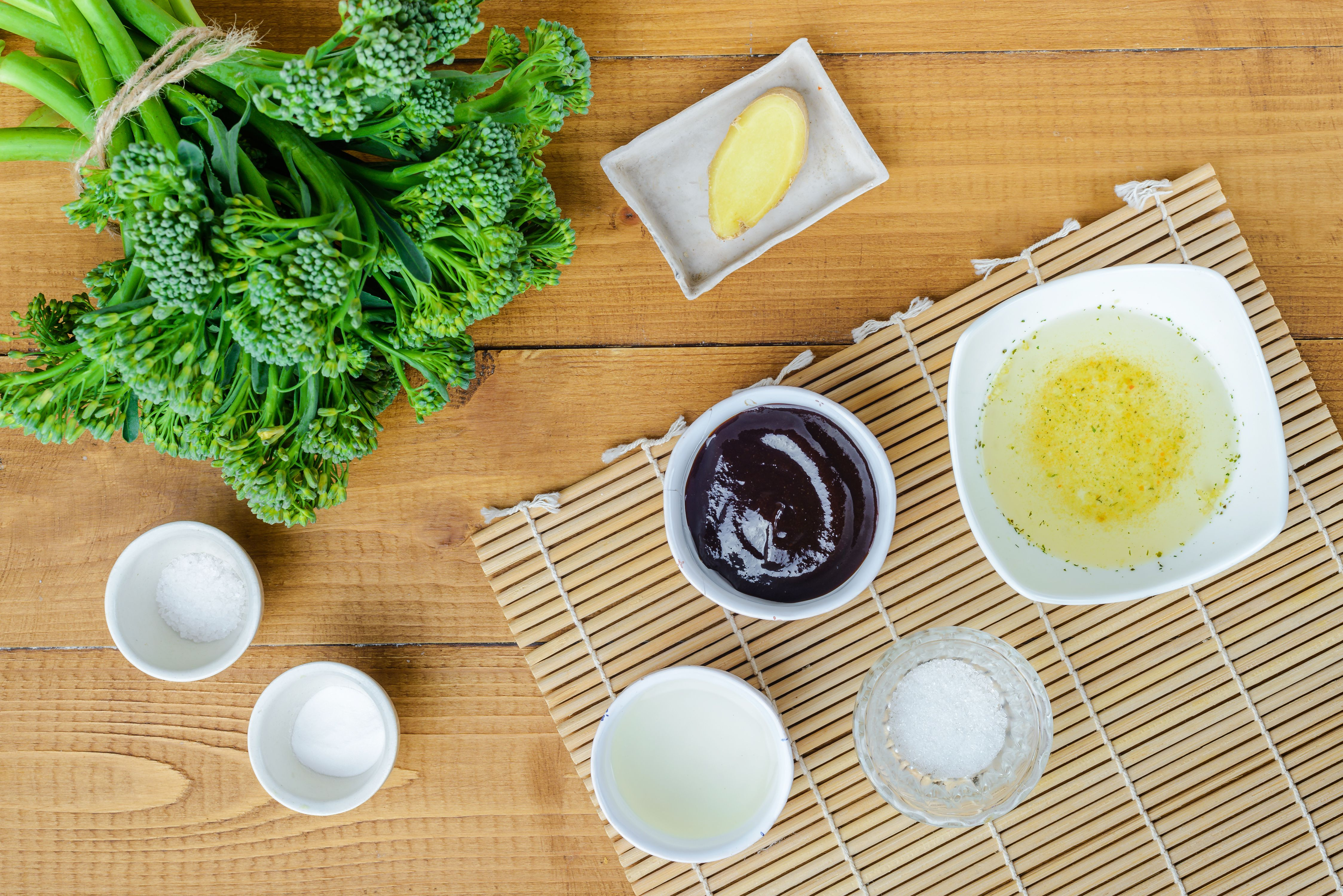 Chinese Broccoli With Oyster Sauce Recipe ingredients