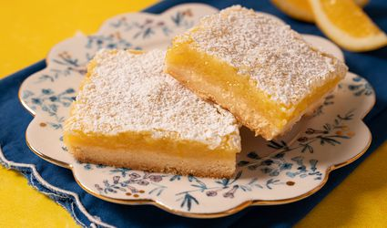 Meyer Lemon Bars