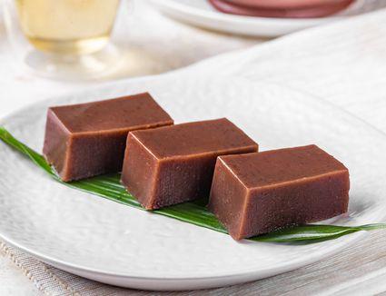 The Japanese dessert mizo yōkan