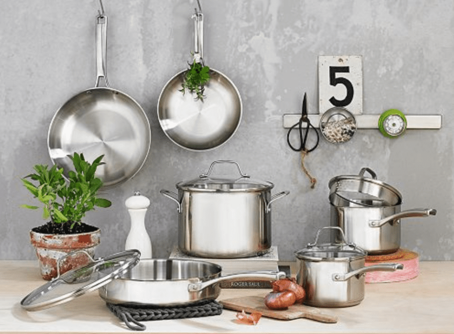 the 6 best stainless steel cookware sets to buy in 2018. Black Bedroom Furniture Sets. Home Design Ideas