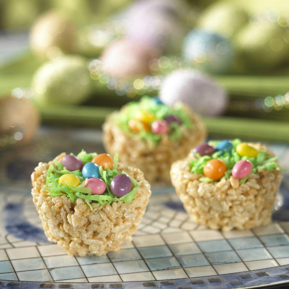 Eater Basket Rice Krispie Treats