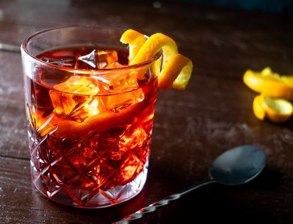 Classic Negroni Cocktail