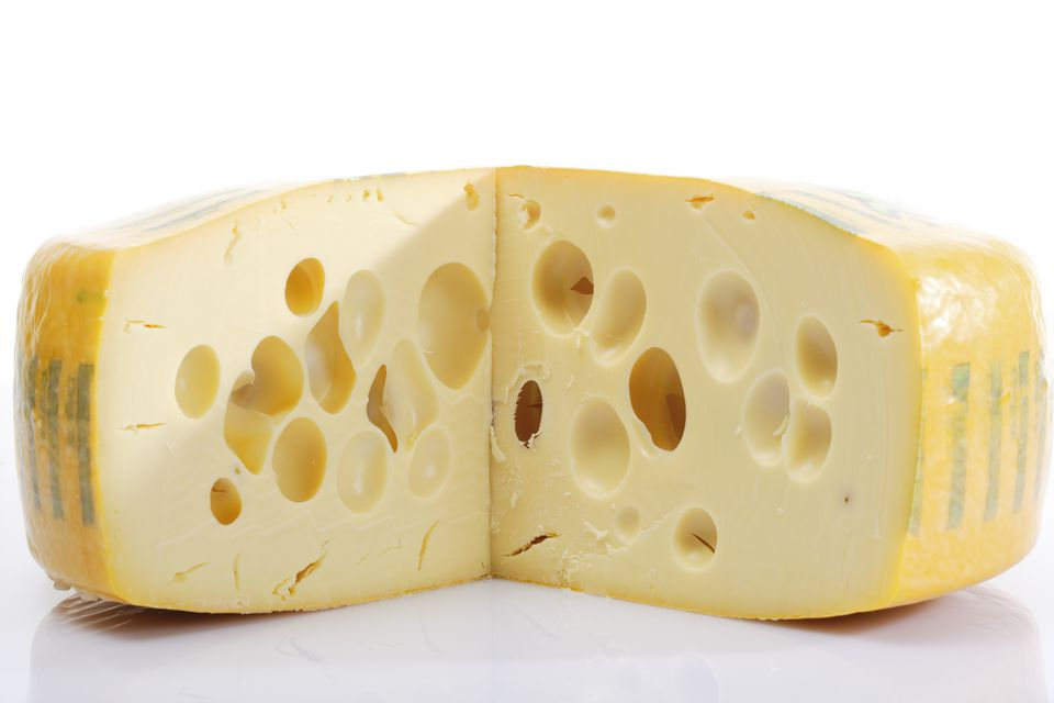 Fresh Swiss cheese
