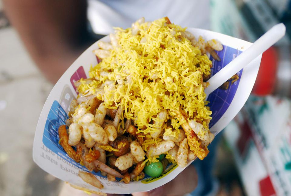 Indian fast food quick and easy recipes bhelpuri forumfinder Gallery