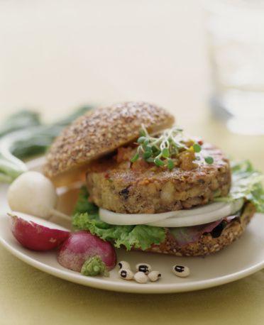 Vegetable veggie burger