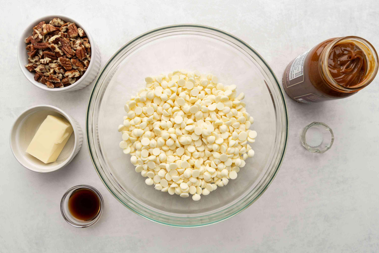 Dulce de Leche Fudge ingredients