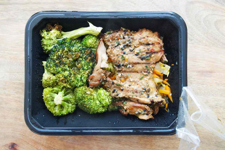 Territory Foods meal in package