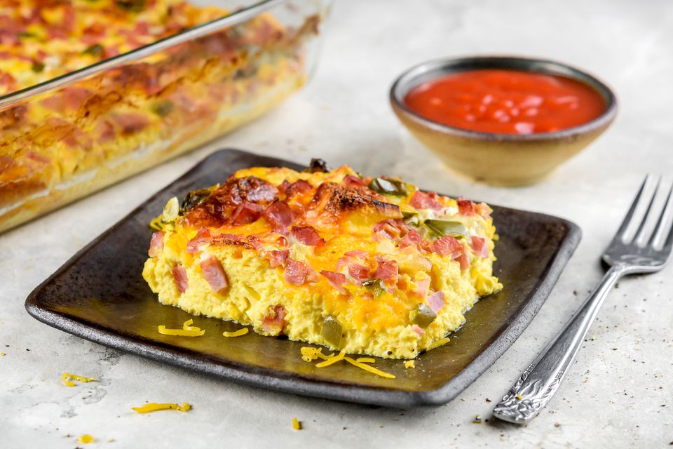 Western Ham and Egg Casserole