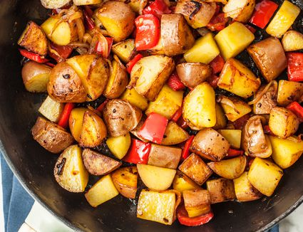 Skillet Fried Potatoes Recipe