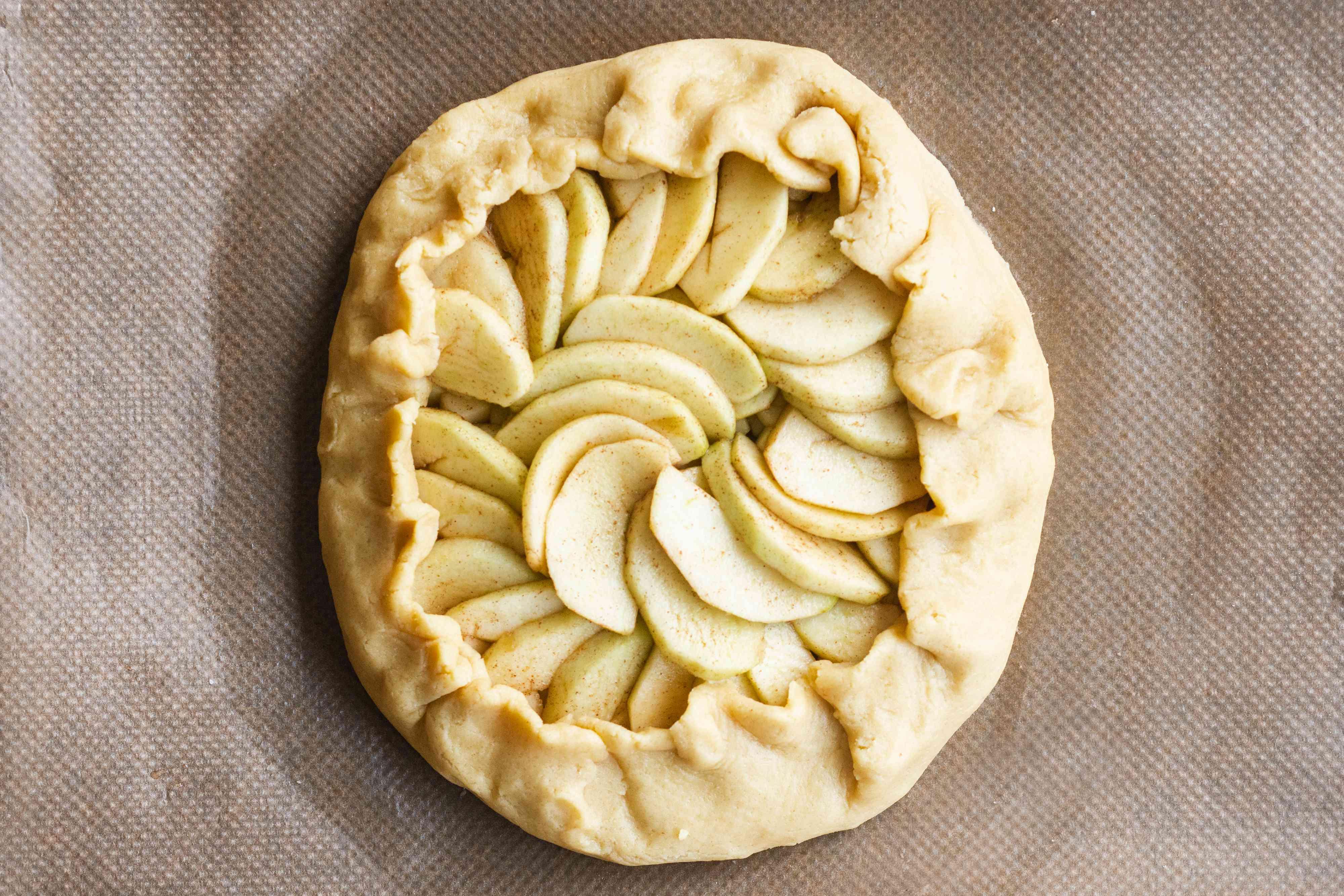wrap the pastry around