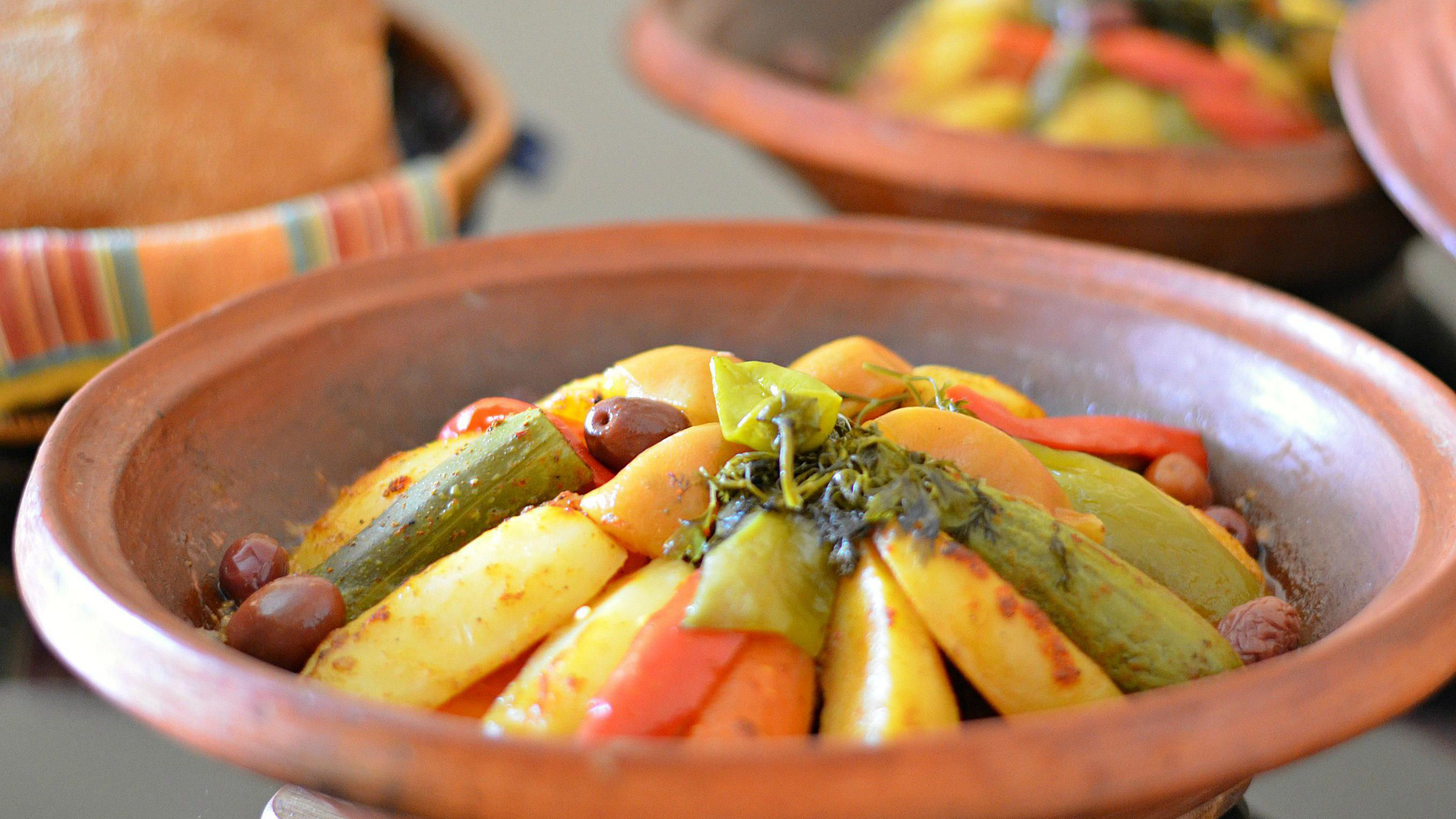 Berber Tagine Recipe With Meat And Vegetables