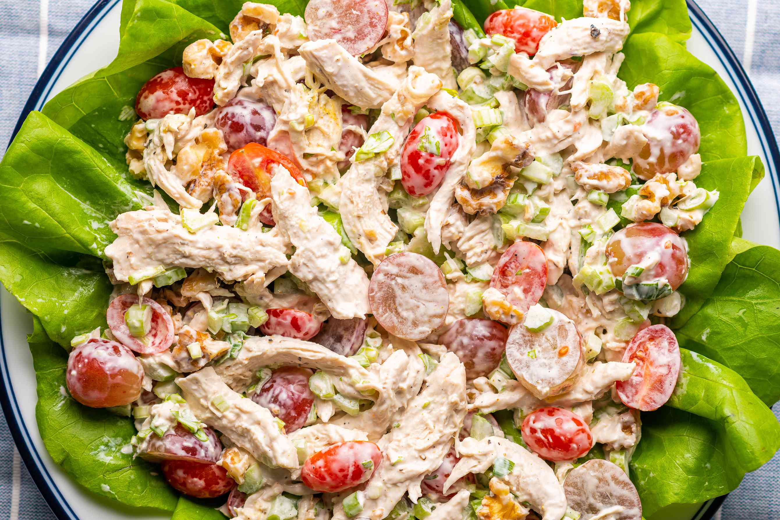 Simple Chicken Salad With Grapes