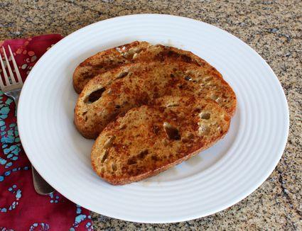 Light Cinnamon French Toast Recipe