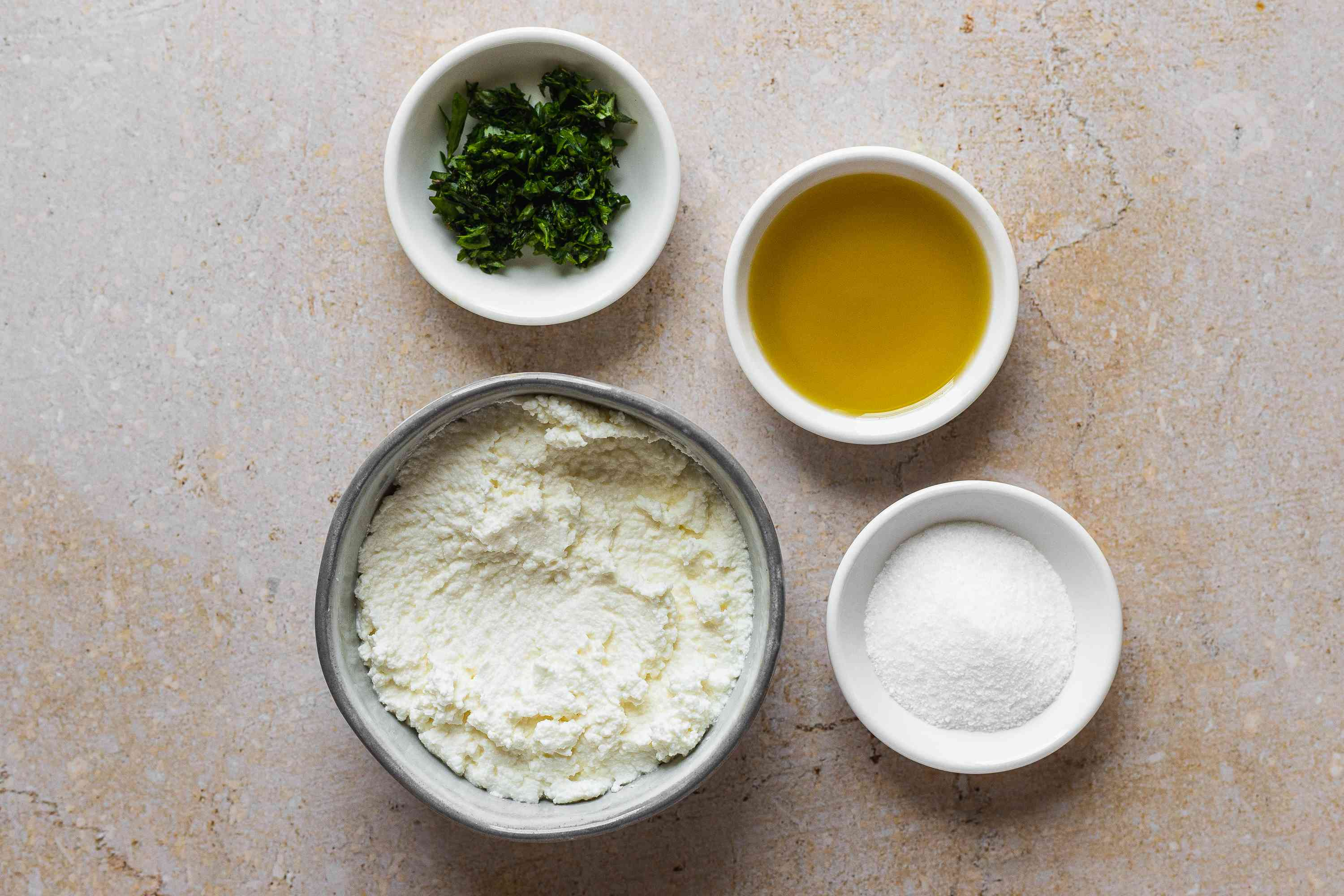 Baked Ricotta Cheese ingredients