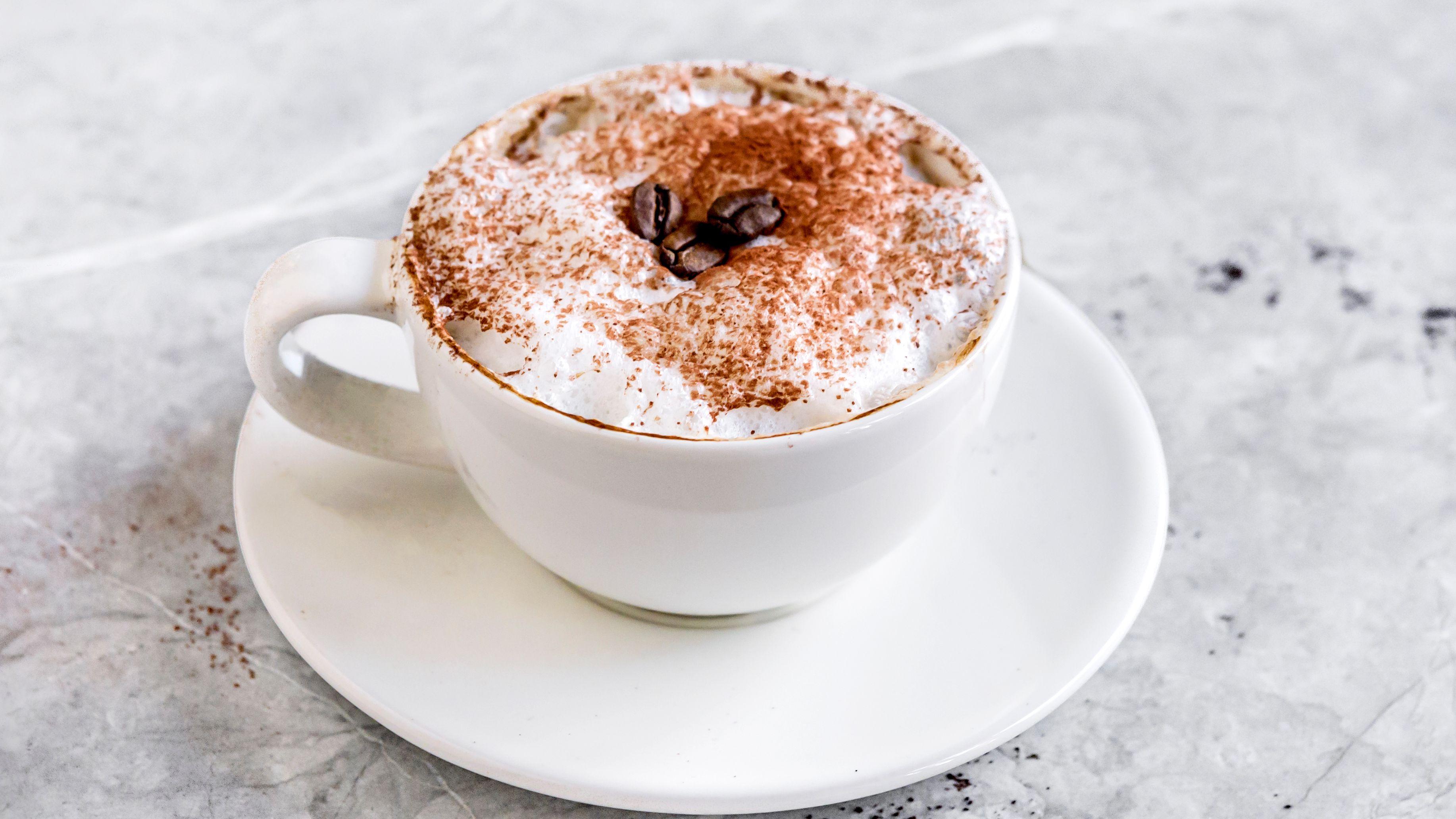 caffe latte macchiato recept