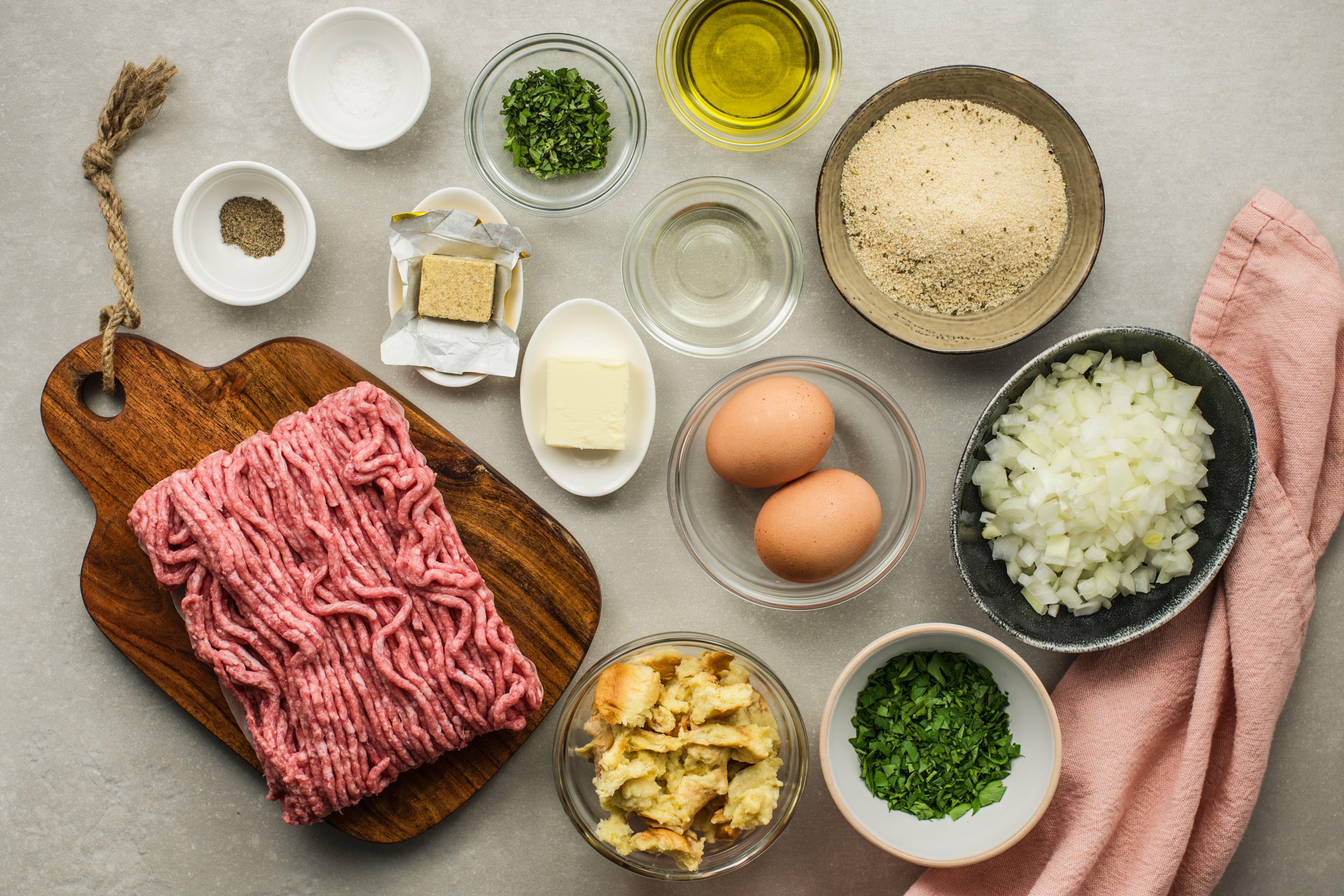 Frikadellen recipe ingredients