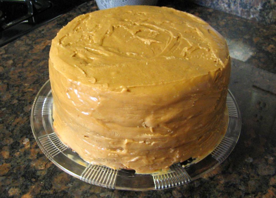 Glaseado de caramelo cocido