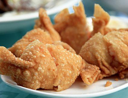 Deep fried shrimp dumpling