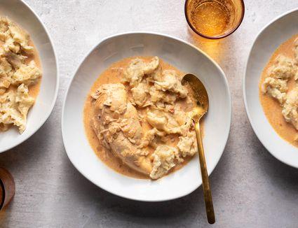 Crock Pot Paprika Chicken With Dumplings
