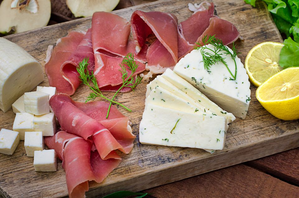 foods high in saturated fats, meat and cheese
