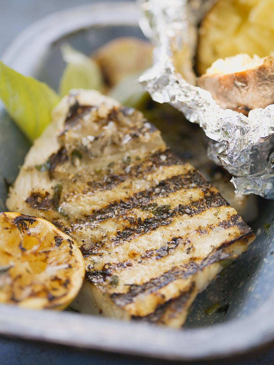 Grill-Fried Fish