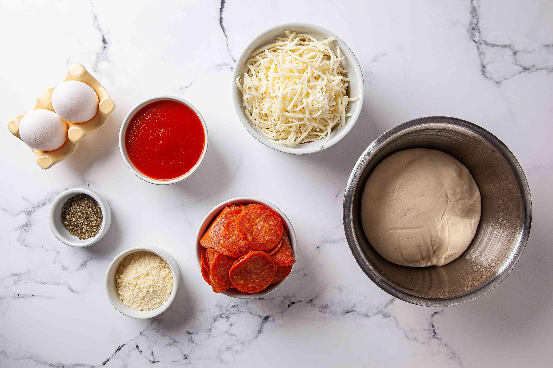 Pepperoni Bread ingredients