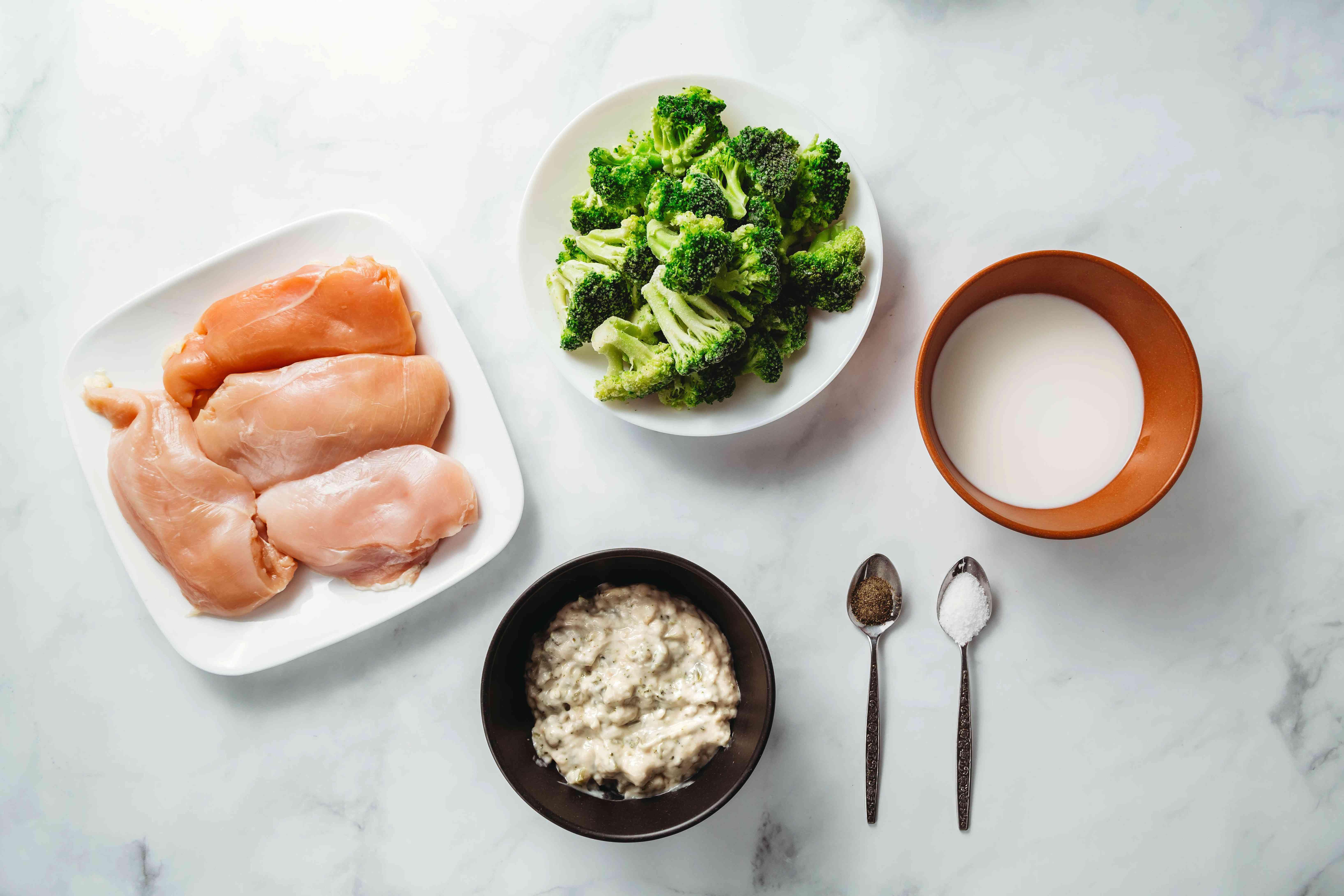 Creamy Broccoli Chicken ingredients
