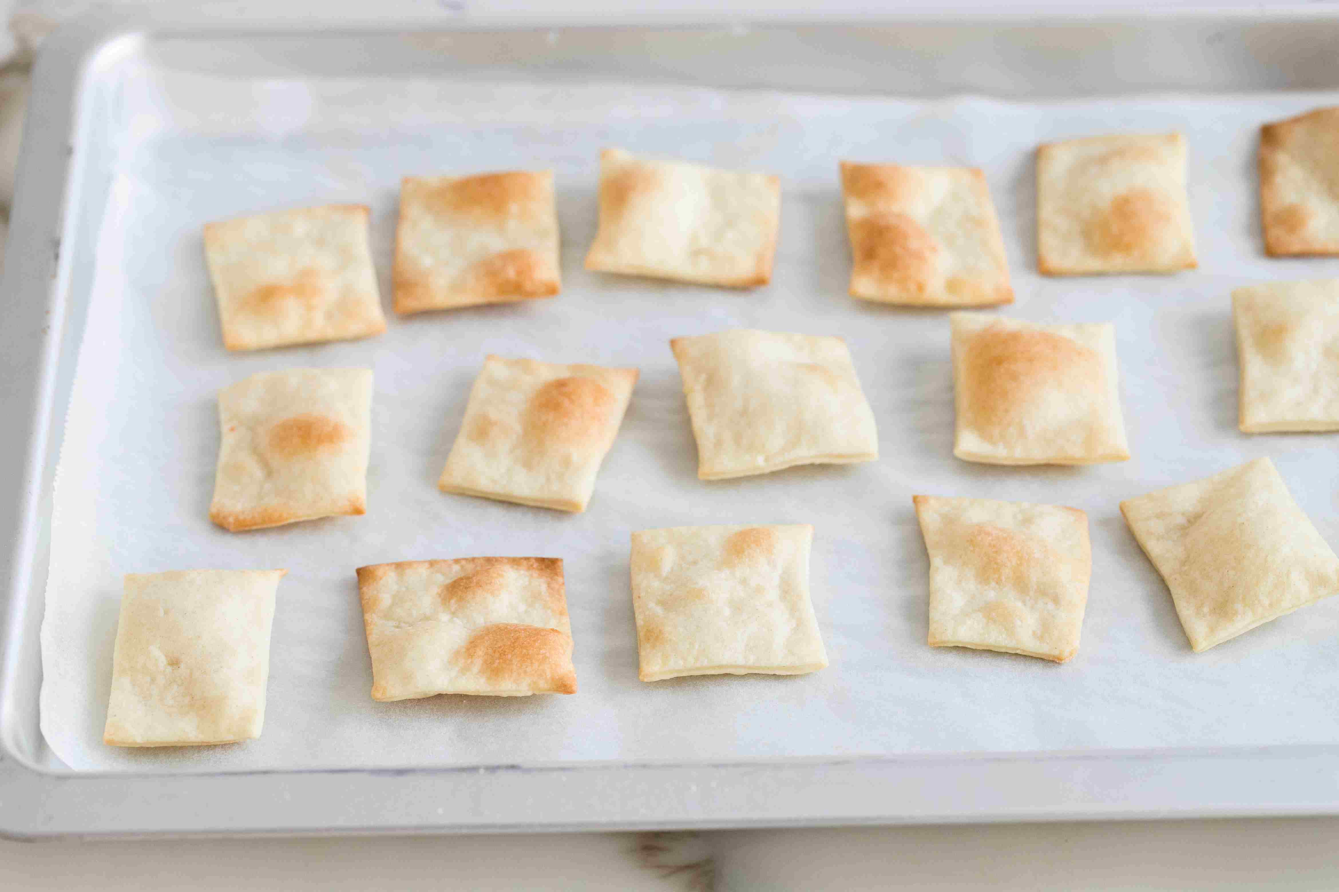 Baked crackers
