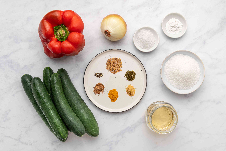 Classic Sweet Hot Dog Relish ingredients