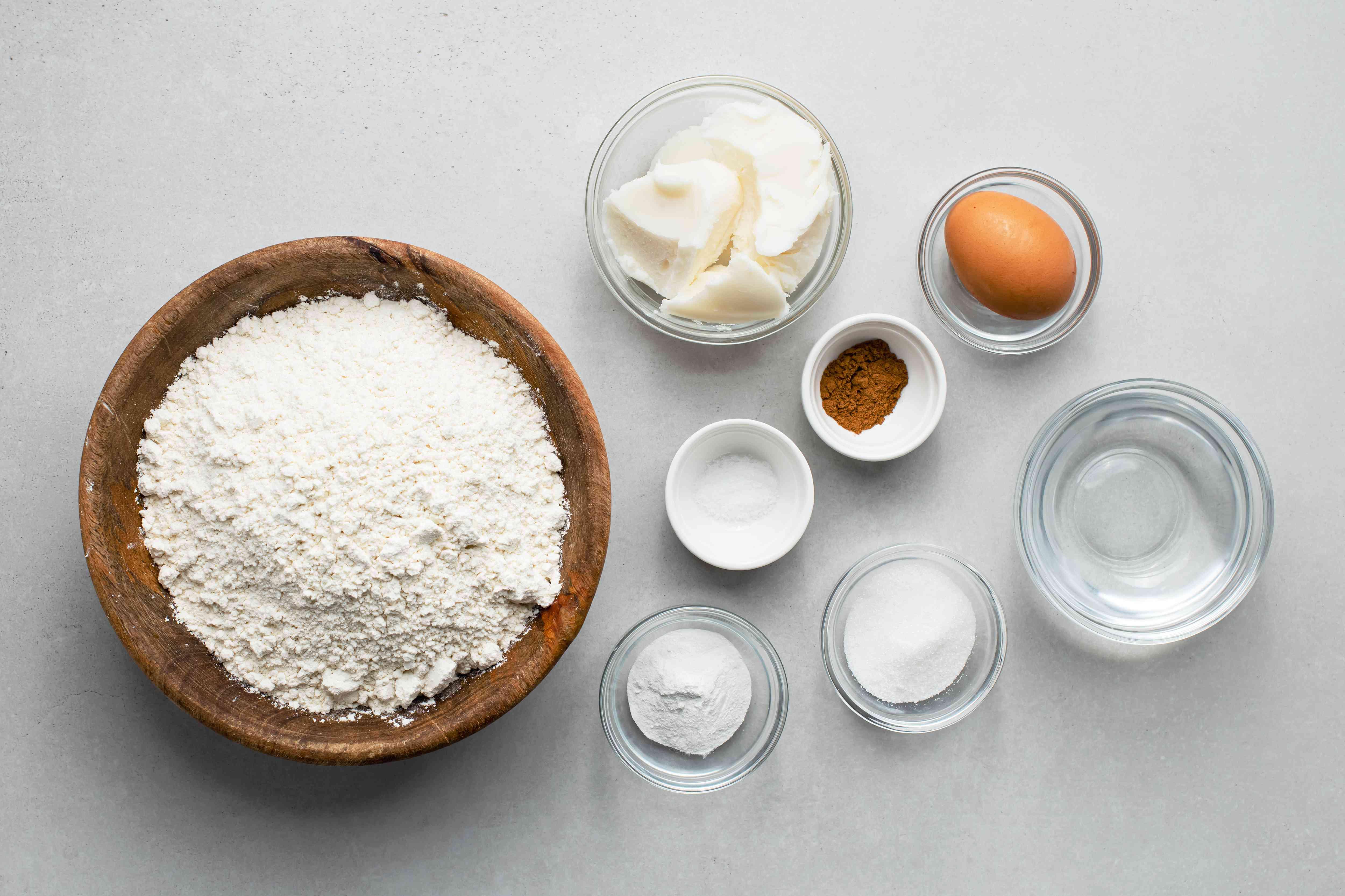 Abuela's Apple Empanadas dough ingredients