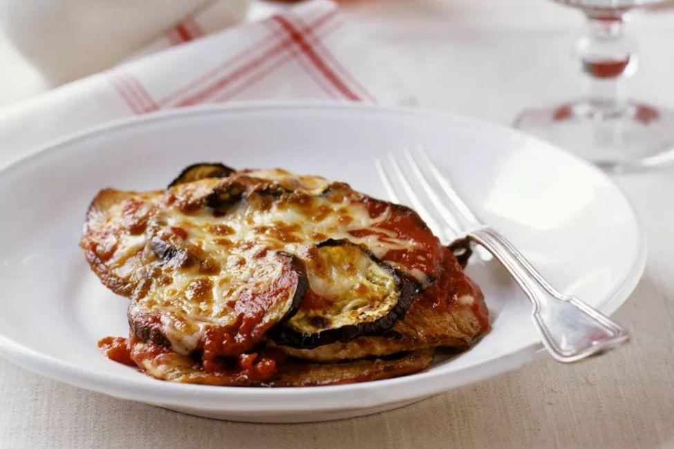Classic Eggplant Parmesan
