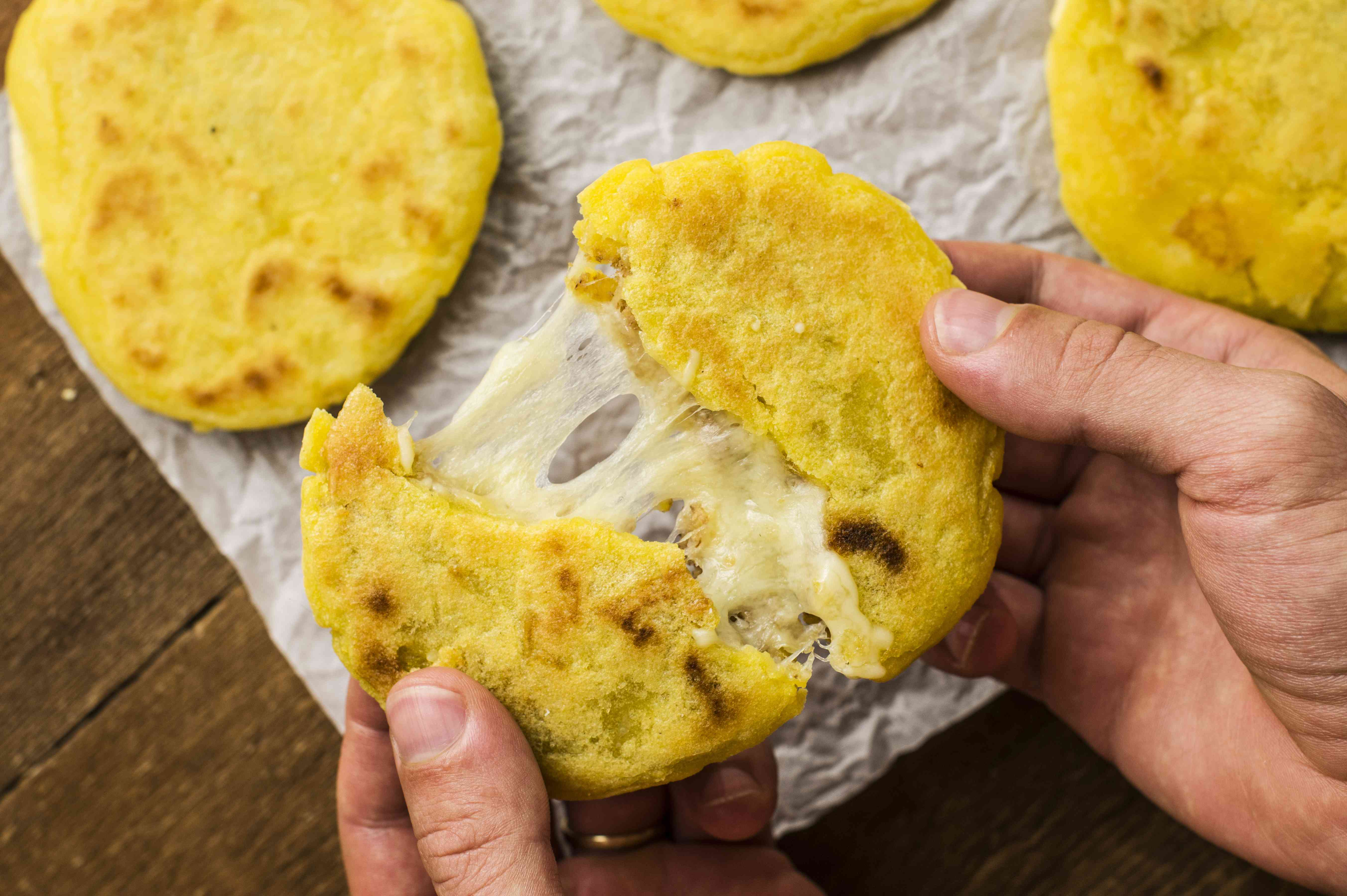 Enjoy Pupusas: Stuffed Corn Tortillas