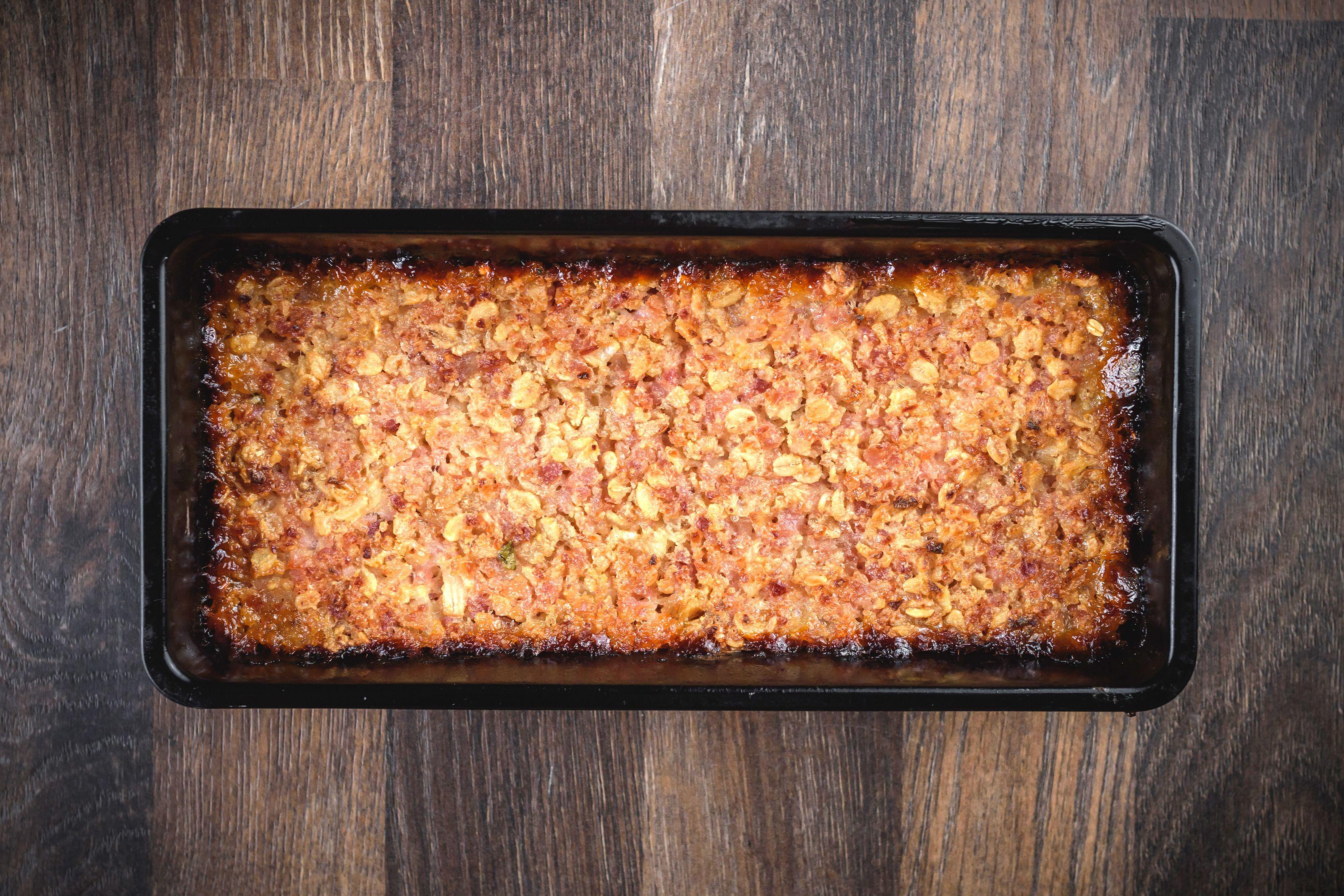 Baked ham loaf