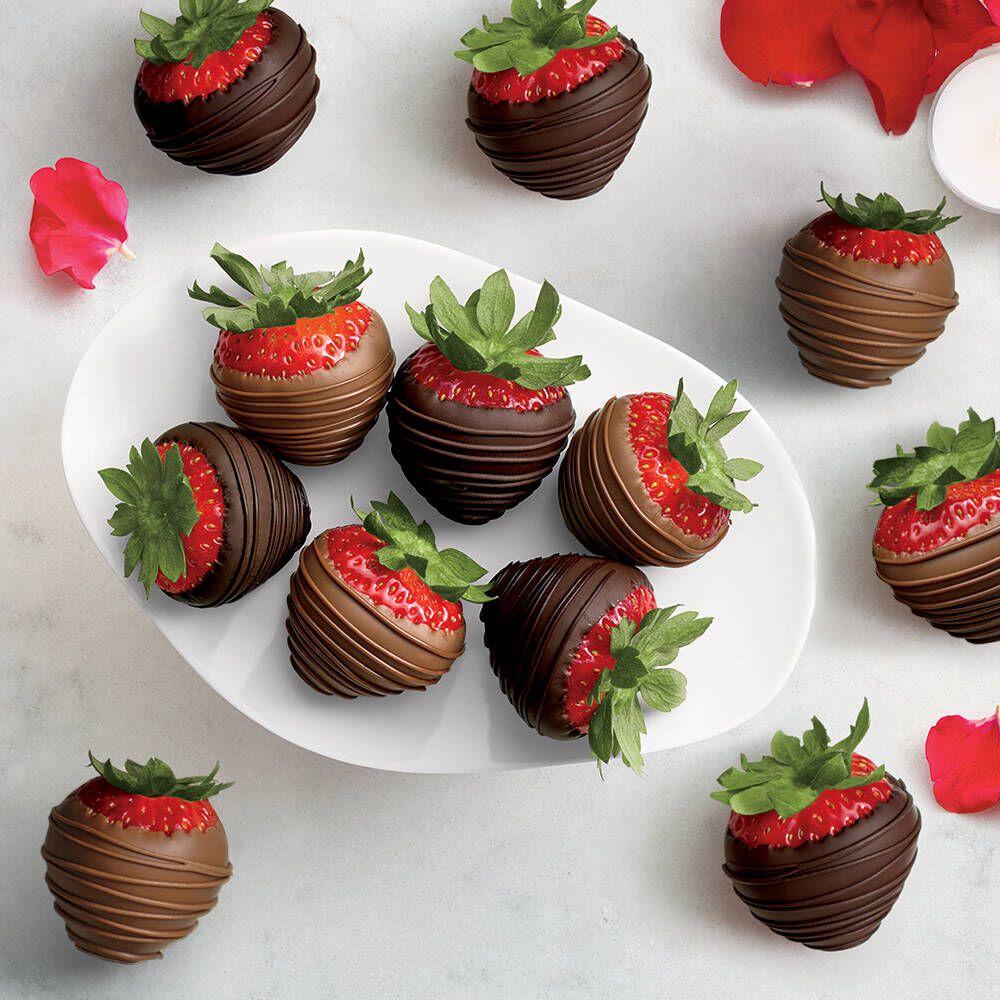 Godiva chocolate dipped strawberries