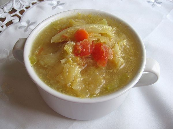 Russian Sour Cabbage Soup or Kislye Shchi