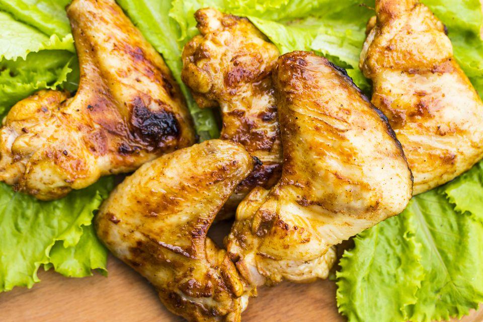 Thai Honey-Garlic Grilled Chicken