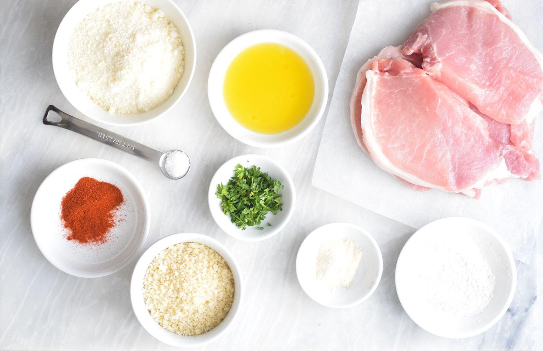 Ingredients for Air Fryer Pork Chops