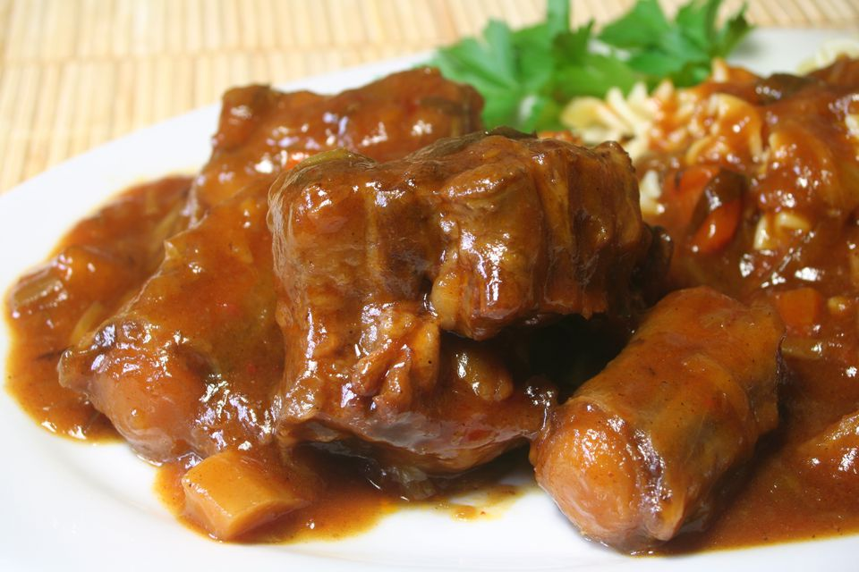 Stewed Oxtail