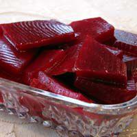 Moroccan sweet beet salad