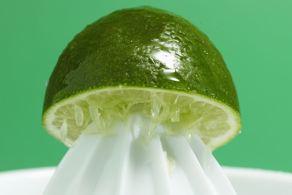 Use Fresh Squeezed Lime Juice for a DIY Lime Cordial