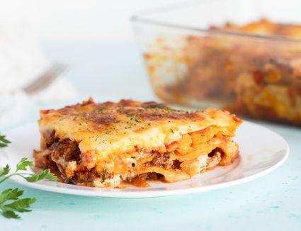 Lasagna With Fresh Ricotta