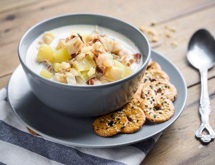 Slow Cooker Fish Chowder Recipe