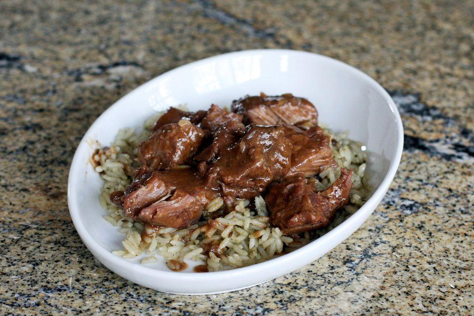 sirloin tips, slow cooker