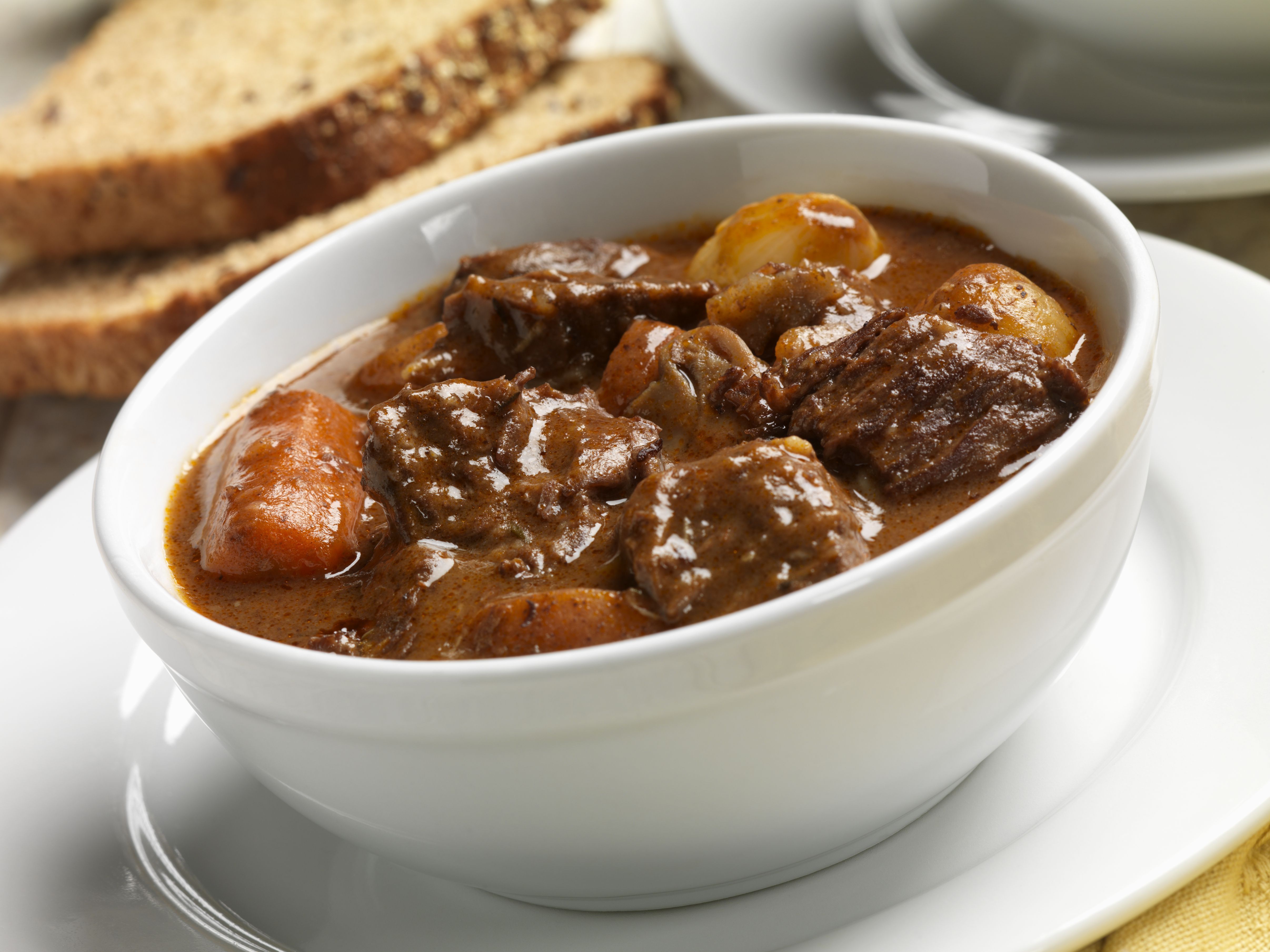 Homemade Hungarian Beef Goulash With Caraway Seed