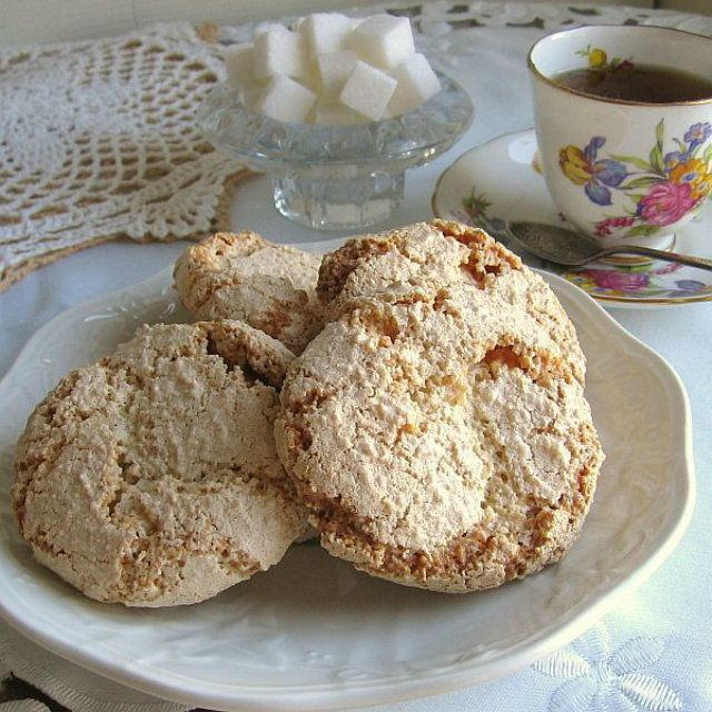 Polish Almond Cookies or Amaretti